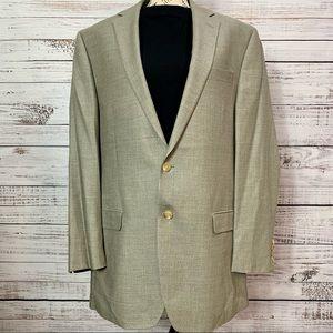 Ralph Lauren Silk/Wool Blazer
